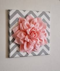 Cute 3d flower wall decor