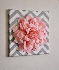 Cute 3d flower wall decor