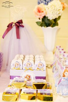 Sofia the First Princess Tea Party #festa #kids #temas #decor