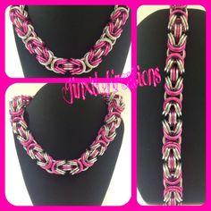 Chainmaille Bracelet, Byzantine, Crochet Necklace, My Etsy Shop, Jewels, Bracelets, Silver, Type 3, Facebook