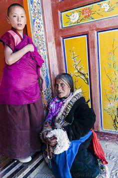Tibetan Family #Tibetan # Tibetan art