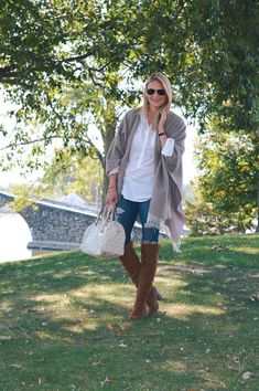 Your Ultimate Fall Must-Haves: The Wool Cape by Illinois fashion blogger Style in a Small Town