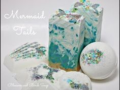 Mermaid Tails Soap and Bath Bombs