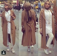 Hulya Aslan Hijab Style, Hulya Aslan hijab fashion looks http://www.justtrendygirls.com/hulya-aslan-hijab-fashion-looks/
