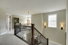 Stairwell - stain color