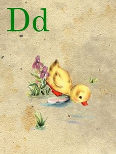 💐Miniature vintage alphabet flashcards from Sweetly Scrapped.🌷 d+-+sweetly+scrapped. Abc Cards, Alphabet Cards, Printable Alphabet, Alphabet Letters, Vintage Crafts, Vintage Paper, Vintage Art, Vintage Pictures, Vintage Images