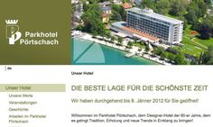 Parkhotel Pörtschach / Startseite © echonet communication GmbH
