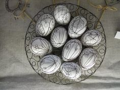 drátkované kalíšky na vajíčka - Hledat Googlem