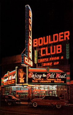 Boulder Club seen here in the early 1950's.