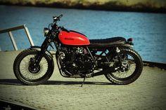 Kawasaki Z750B Brat Style by hb-custom Nr.5 #bratstyle #motos #motorcycles | caferacerpasion.com