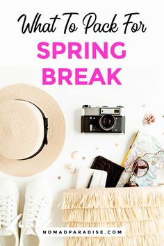 The Ultimate Spring Break Essentials Guide – What to pack for spring break by … – neon nail art Spring Break Party, Spring Break Cruise, Spring Break Vacations, Broken Pictures, Mini First Aid Kit, Trends, What To Pack, Guide, Travel Essentials