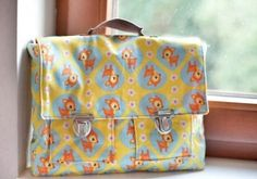 Cute bag for school, with tutorial