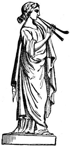 Portal de Mandalas: AS 9 MUSAS GREGAS - Euterpe
