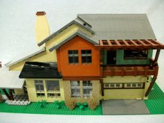 724 S. Lone Brook way: A LEGO® creation by Boise Bro : MOCpages.com