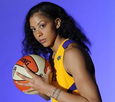Candace Parker---is an American basketball player for the WNBA's Los Angeles Sparks and UMMC Ekaterinburg of Russia. She is the younger sister of retired NBA player Anthony Parker.