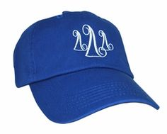 Delta Delta Delta Monogrammed Greek Hat - Greek Gear®