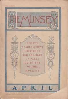 April 1902 The Munsey Magazine Kentucky Thoroughbreds Cathedral of St John NYC