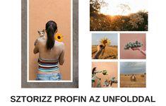 Appajánló: készíts kreatív Instagram sztorikat az Unfolddal - Pikrea Workshop, Polaroid Film, Marketing, Instagram, Atelier