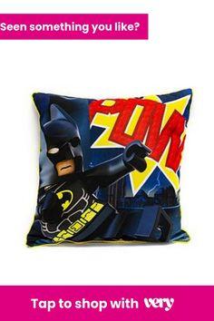 Lego Superheroes Challenge Cushion