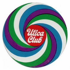 Utica Club Beer coaster. West End Brewing Co. Utica, N.Y.