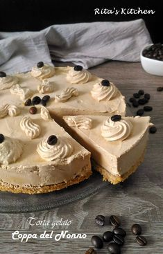Torte Cake, Cake & Co, New Cooking, Cooking Recipes, Cheesecake, Frozen Desserts, Sweet Cakes, Yummy Cakes, Sweet Recipes