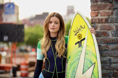 5 Easy Steps to Beach Hair (Photo:   Casey Kelbaugh for The New York Times; Credits:Hair by Tiffani Patchett for Bumble and Bumble; Makeup by Anne Kohlhagen for Chanel Beauté; Wetsuit by Cynthia Rowley, courtesy of Saturdays Surf NYC)