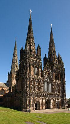 Lichfield Cathedral | West Facade | Flickr – Compartilhamento de fotos!
