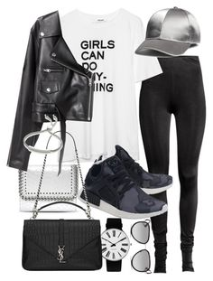 """Untitled #21213"" by florencia95 ❤ liked on Polyvore featuring STELLA McCARTNEY, Rosendahl, SKINN, adidas Originals, Yves Saint Laurent, Michael Kors and Monica Vinader"