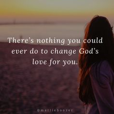 God's love is unconditional and you can't do anything to earn it or lose it! Unconditional Love, Afrikaans, Do Anything, Christian Quotes, Gods Love, Love Quotes, Long Hair Styles, Travel, Qoutes Of Love