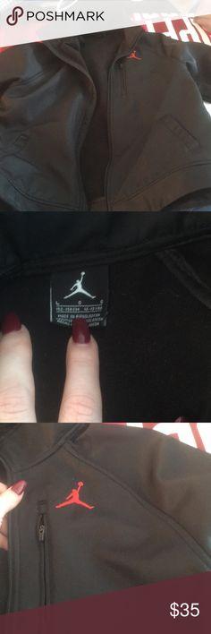 Black Jordan boys jacket Black Jordan jacket Jordan Jackets & Coats