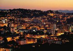 Vista noturna. São Marcos -RS