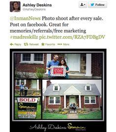 Real Estate Marketing Idea: Photo Shoot After Every Sale -Louisville Realtor Ashley Deskins