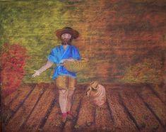 Handwerker - Ackerbau - Tafelbilder an der Waldorfschule