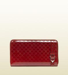 gucci nice microguccissima zip around wallet
