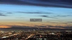 Los Angeles Skyline from Turnbull Canyon