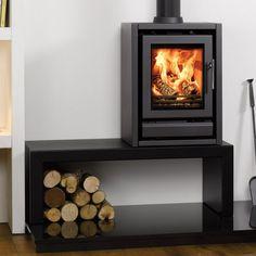 Stovax Riva F40 multi fuel wood burning stove