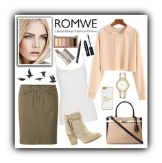 """""""~~Apricot Green and Confidence~~"""" by avathegirlwithbooks ❤ liked on Polyvore featuring maurices, Uniqlo, Jayson Home, Dorothy Perkins, Not Rated, BaubleBar, Urban Decay, Michael Kors, NARS Cosmetics and Bobbi Brown Cosmetics"""