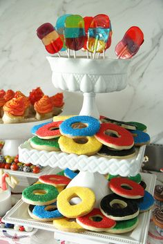 Olympics Party food ideas