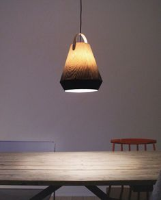 peppermags: Lighting | Konkret pendant light by Jonas Edward