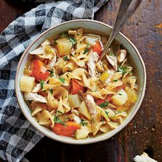 Soulful Chicken Soup - Simple Slow-Cooker Recipes - Southern Living