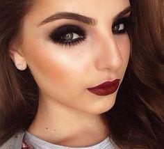 Your Fashion Addict is here today with the newest hot makeup trends 2016 Contour Makeup, Glam Makeup, Love Makeup, Makeup Tips, Beauty Makeup, Makeup Looks, Hair Makeup, Hair Beauty, Makeup Style