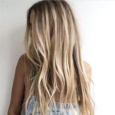 Beach Blonde Hair, Dark Blonde Hair Color, Beachy Hair, Beach Hair Color, Beachy Waves, Ash Blonde, Caramel Blonde, Sandy Blonde, Soft Waves