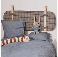 Tête de lit enfant Hokei OYOY pour chambre enfant - Les Enfants du Design Design Japonais, We Are Family, Modern Shop, Lowercase A, Decoration, Cuddling, Toddler Bed, Rabbit, Cushions