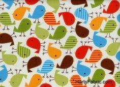 Urban Zoologie Birds on Cream