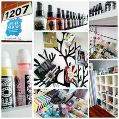 Pedacitos de nuestro estudio creativo - PlayScrap - Madrid Madrid, Photo Wall, Scrapbook, Frame, Crafts, Home Decor, Point Of Sale, Studio, Creativity