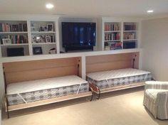 possible bedroom design for basement.. Cape Cod Basement Renovation - transitional - Basement - Boston - JW Construction | Home Hacks