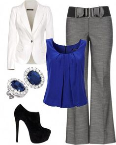 classy work attire Classy Work Outfits, Winter Outfits For Work, Stylish Outfits, Girly Outfits, Outfit Work, Fall Outfits, Summer Outfits, Business Fashion Professional, Professional Outfits