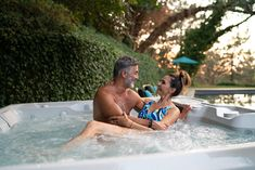 Spend more time enjoying your hot tub, and less time maintaining it. Our FreshWater Salt® System helps keep spa water clean and sanitary, and requires fewer chemicals and less fuss. Salt And Water, Fresh Water, Spring Spa, Spa Water, Backyard Retreat, Hot Springs, Tub, Landscape, Bathtubs