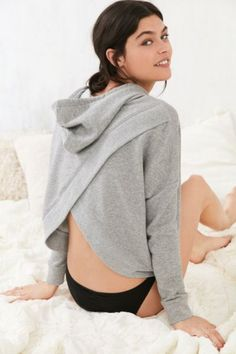 Out From Under Cross My Heart Hoodie Sweatshirt - Urban Outfitters