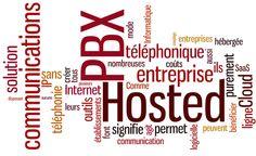 fricasse:  Hosted PBX, vu au travers d'un nuage de mots-clé, est une solution avantageuses pour les entreprises, et tout particulièrement celles qui possèdent plusieurs établissements, car il permet une centralisation bénéfique des ressources de téléphonie.